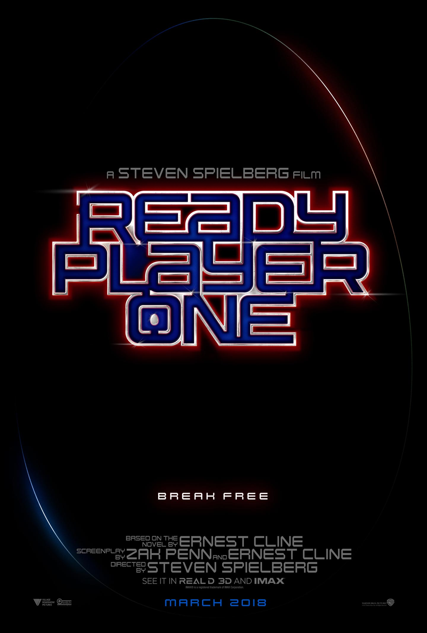 Ready Player One Poster #1