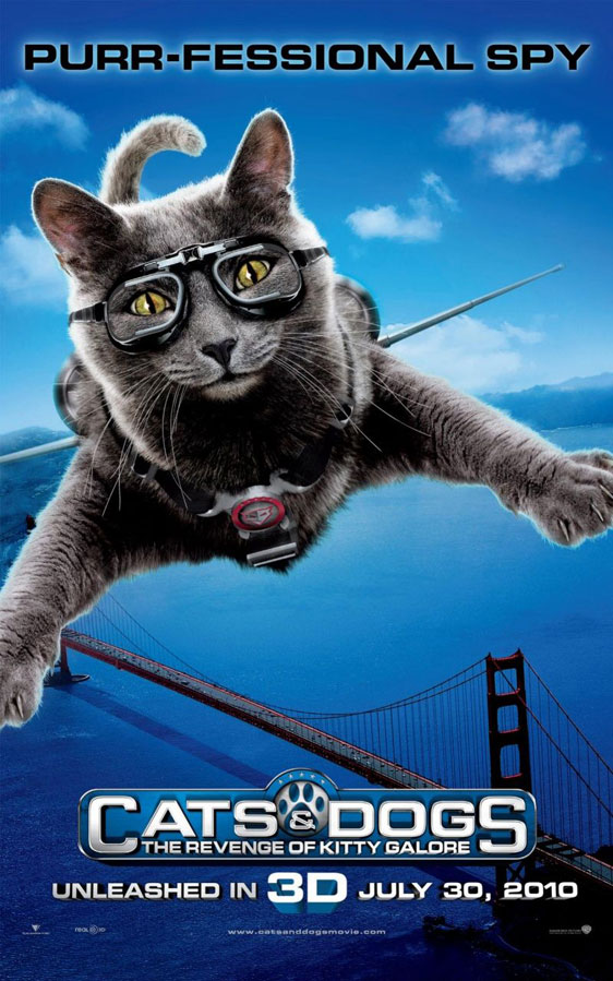 Cats Dogs The Revenge Of Kitty Galore Poster 3