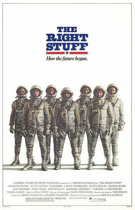 The Right Stuff Poster #1