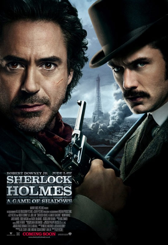 Sherlock Holmes: A Game of Shadows Poster #11