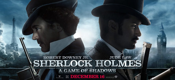 Sherlock Holmes: A Game of Shadows Poster #14