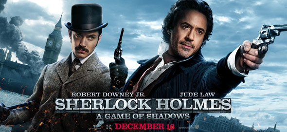 Sherlock Holmes: A Game of Shadows Poster #15
