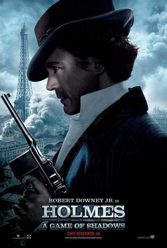 Sherlock Holmes: A Game of Shadows Poster #4