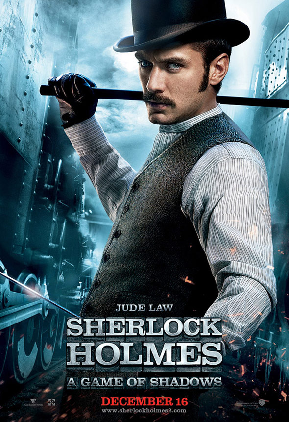 Sherlock Holmes: A Game of Shadows Poster #9