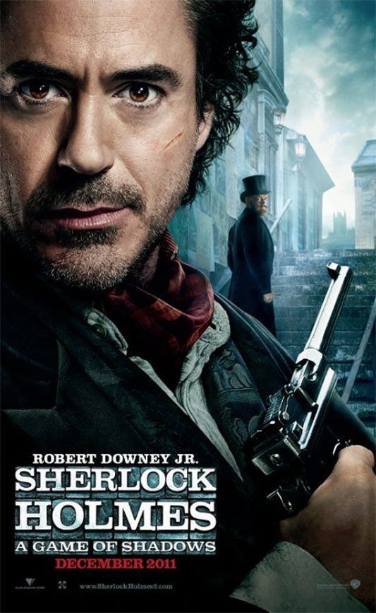 Sherlock Holmes: A Game of Shadows Poster #1