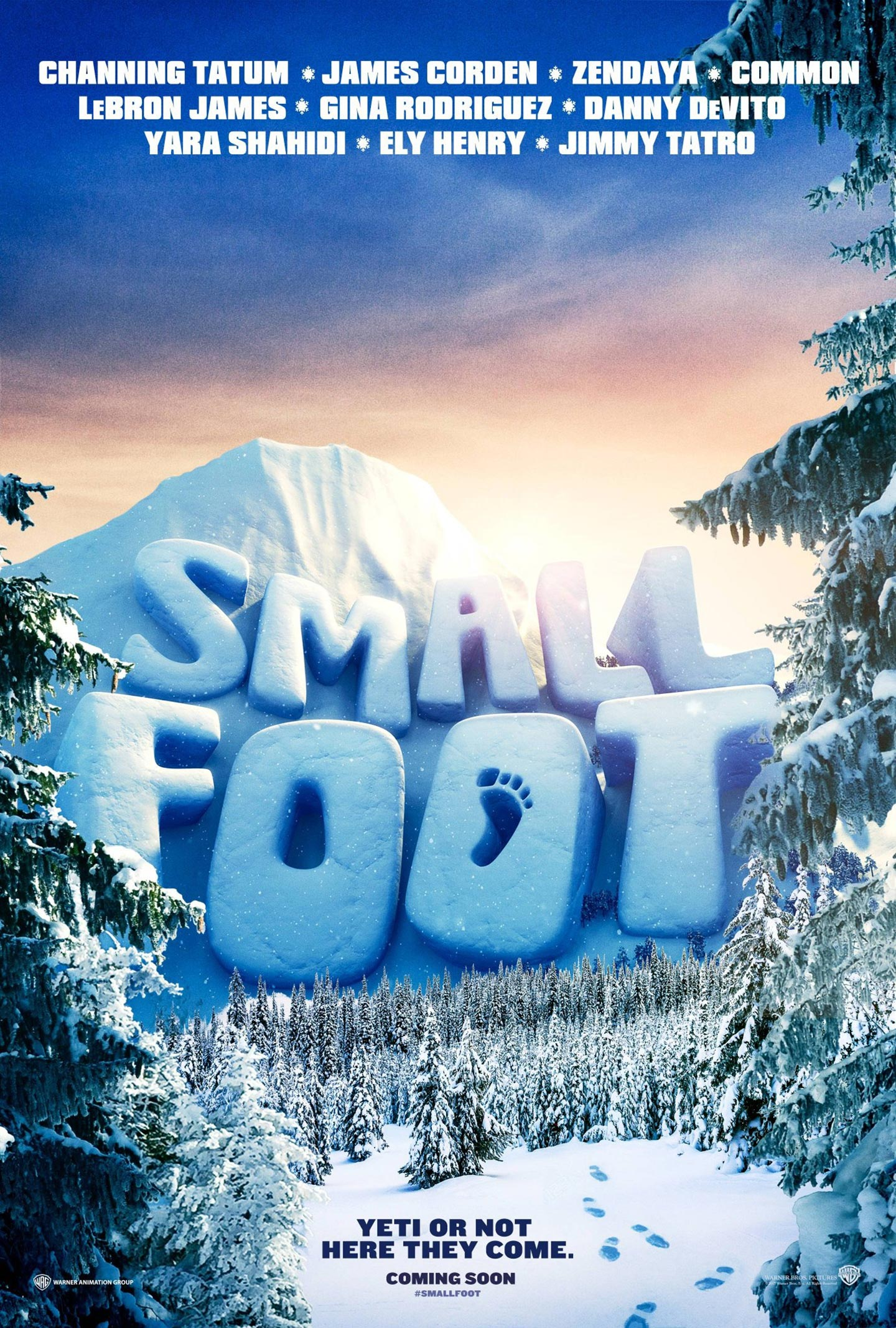 Smallfoot Poster #1