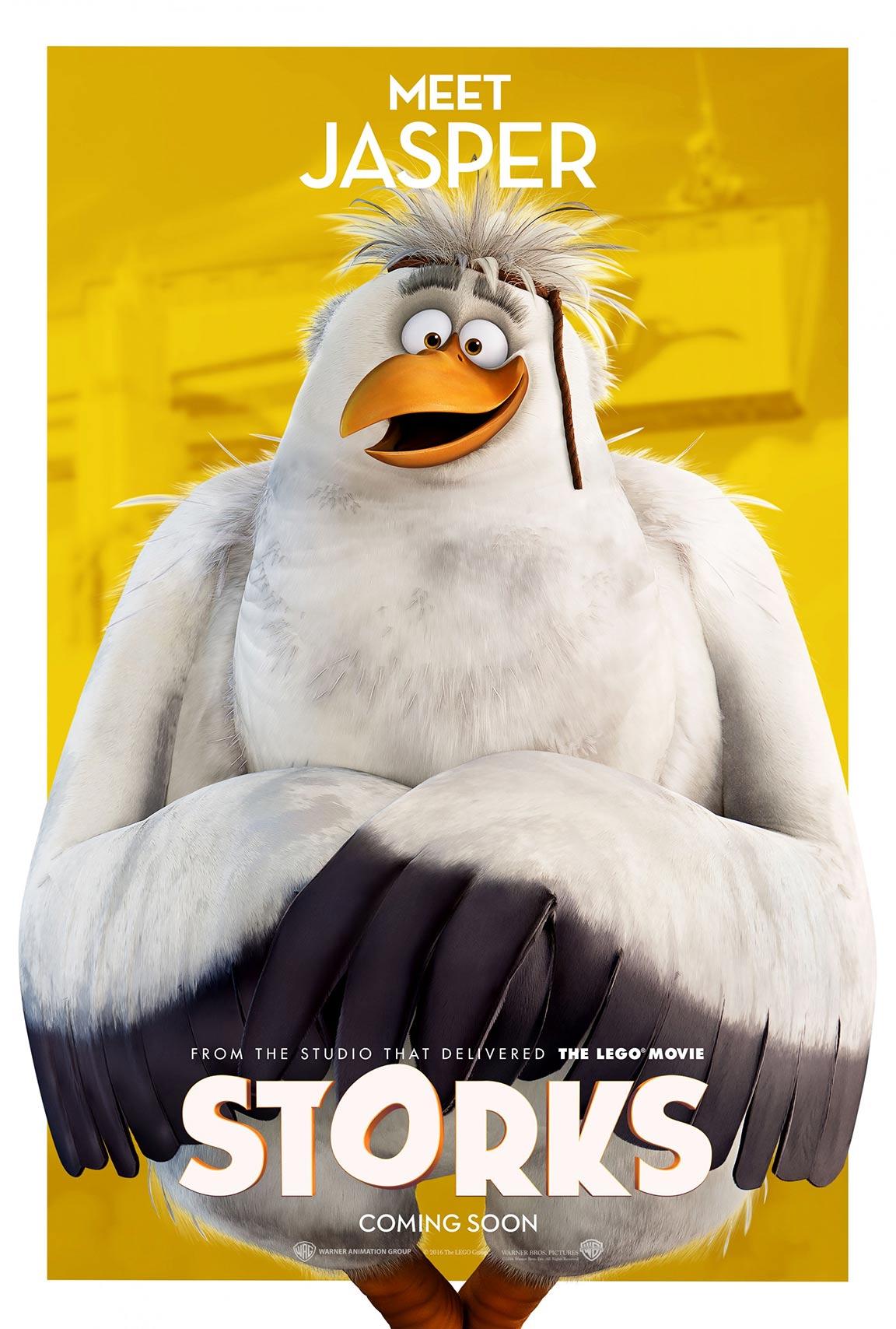 Storks 2016 poster 1 trailer addict