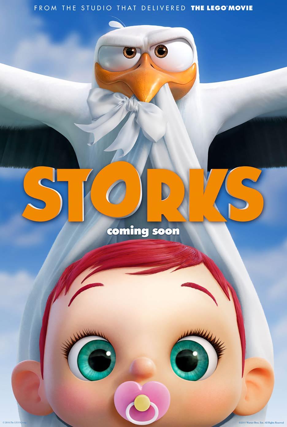Resultado de imagem para Storks 2016 posters