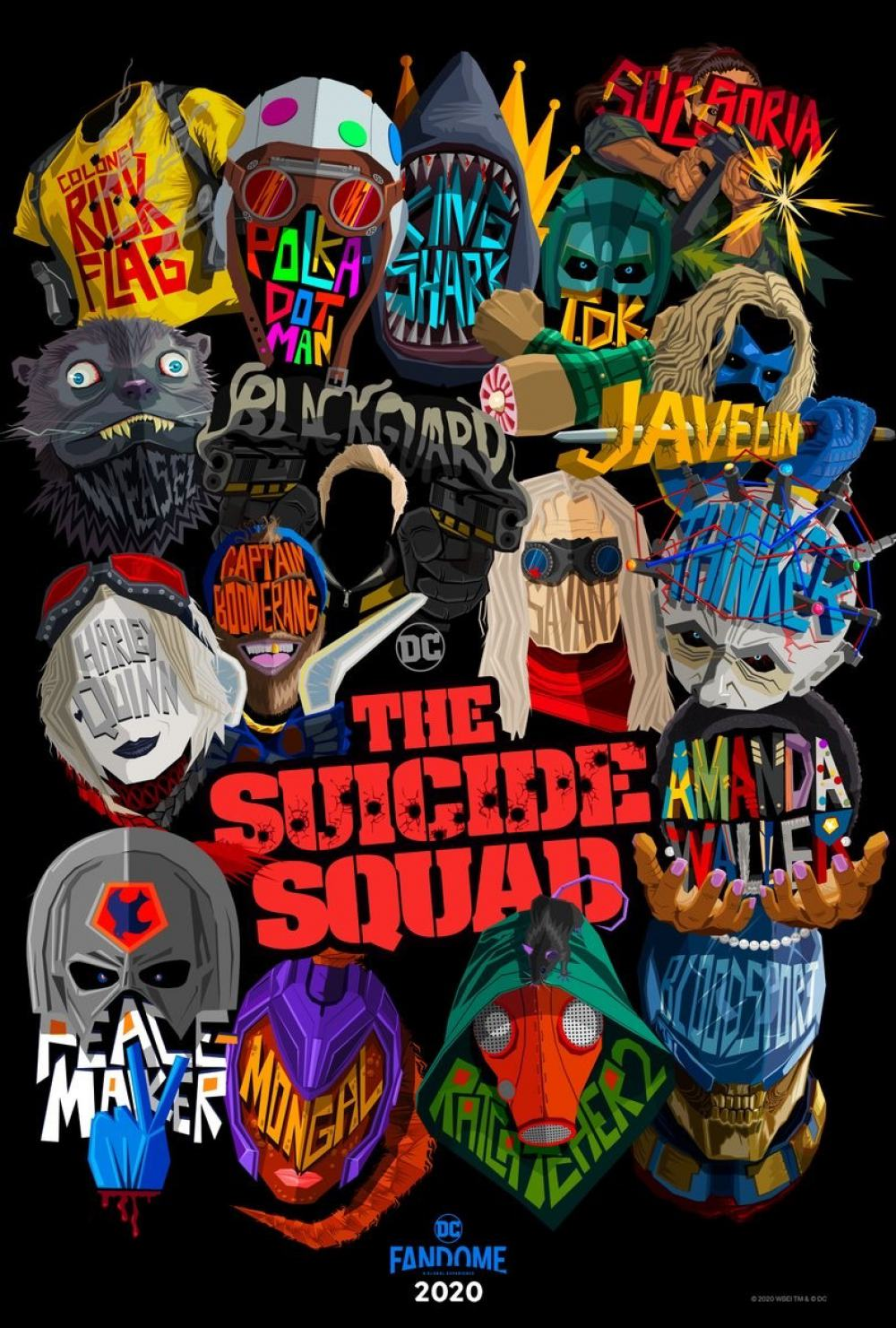 The Suicide Squad Poster #1