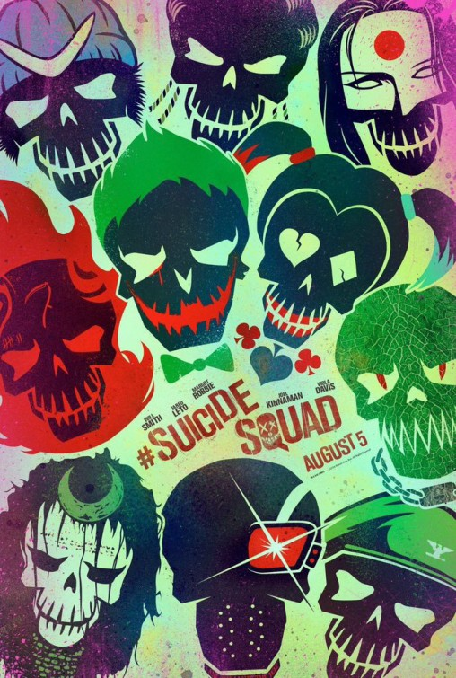 Suicide Squad Poster #2