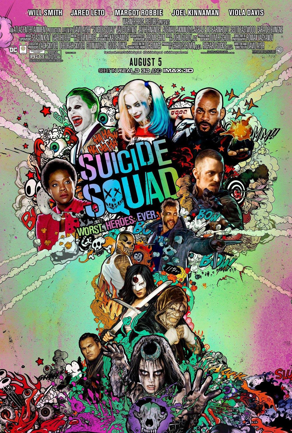 Suicide Squad Poster #20
