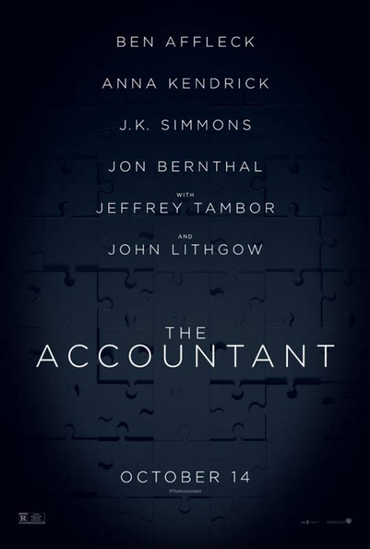 The Accountant Poster #2