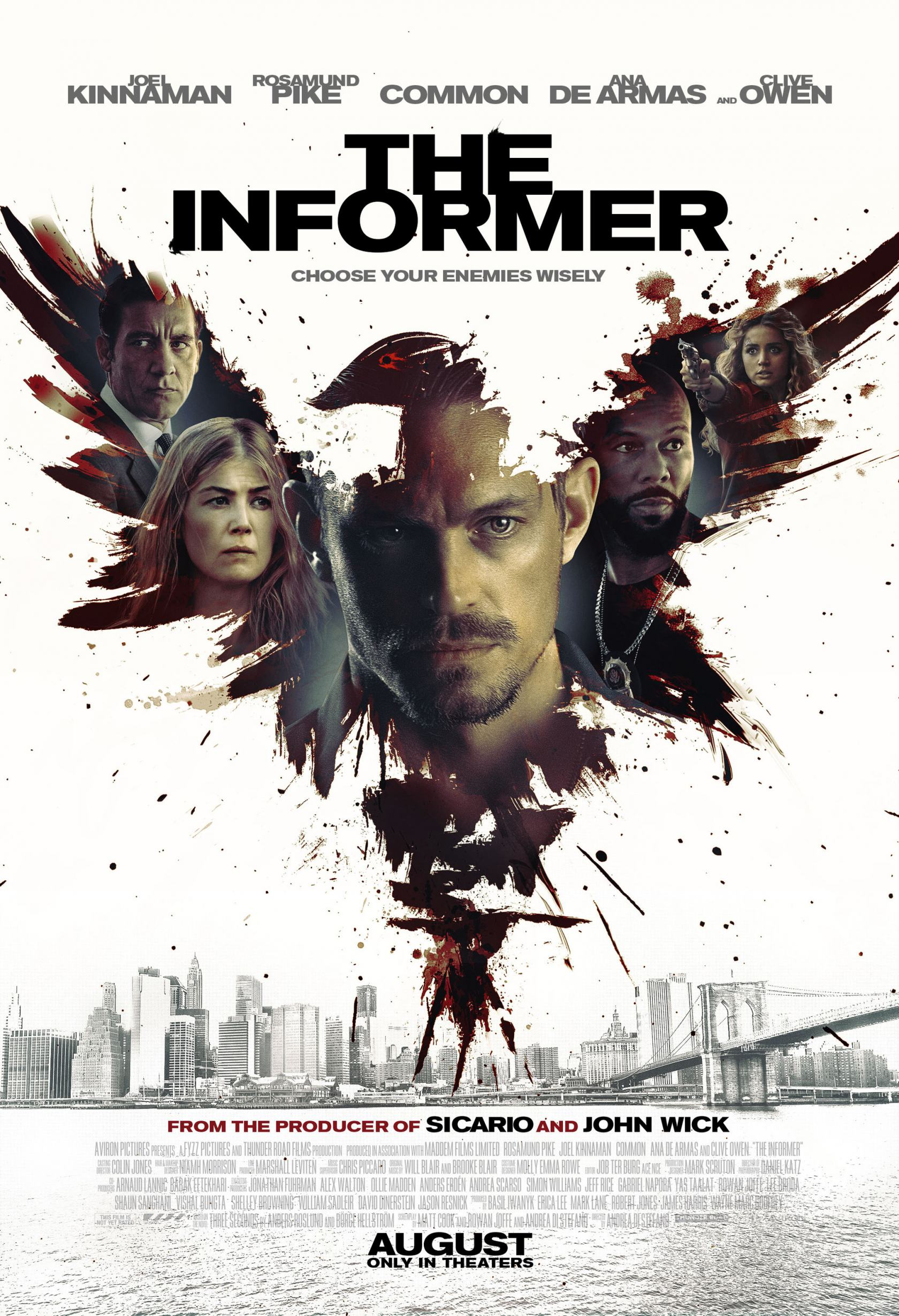 The Informer Poster #1