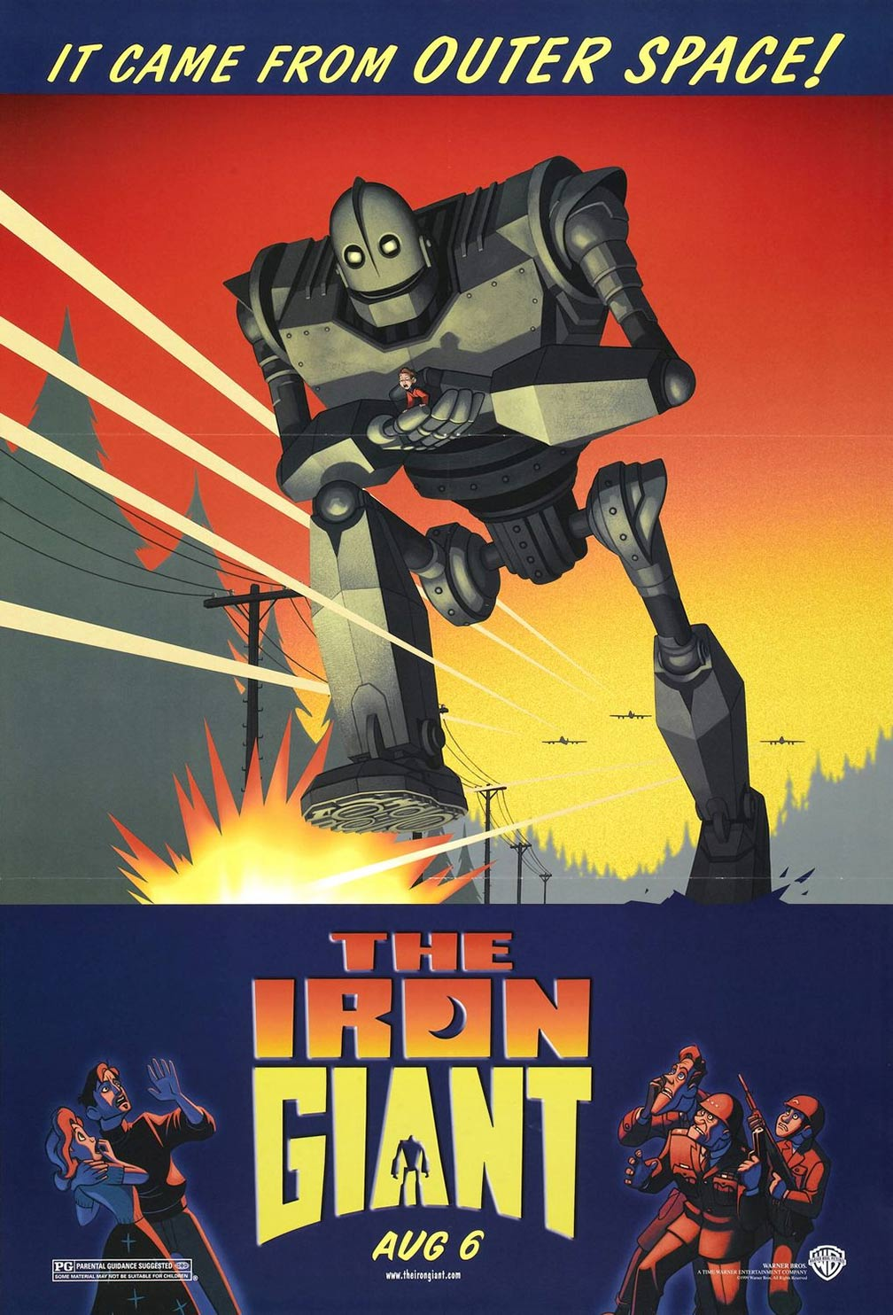 The Iron Giant Poster #1