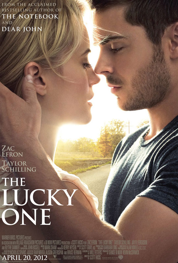 The Lucky One Poster #1