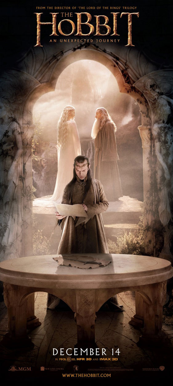 The Hobbit: An Unexpected Journey Poster #28