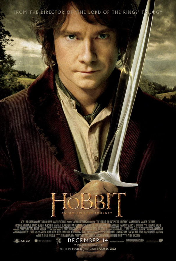 The Hobbit: An Unexpected Journey Poster #3