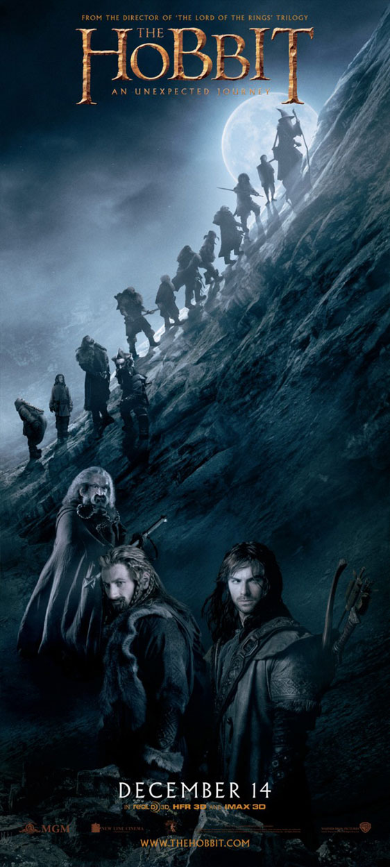 The Hobbit: An Unexpected Journey Poster #32