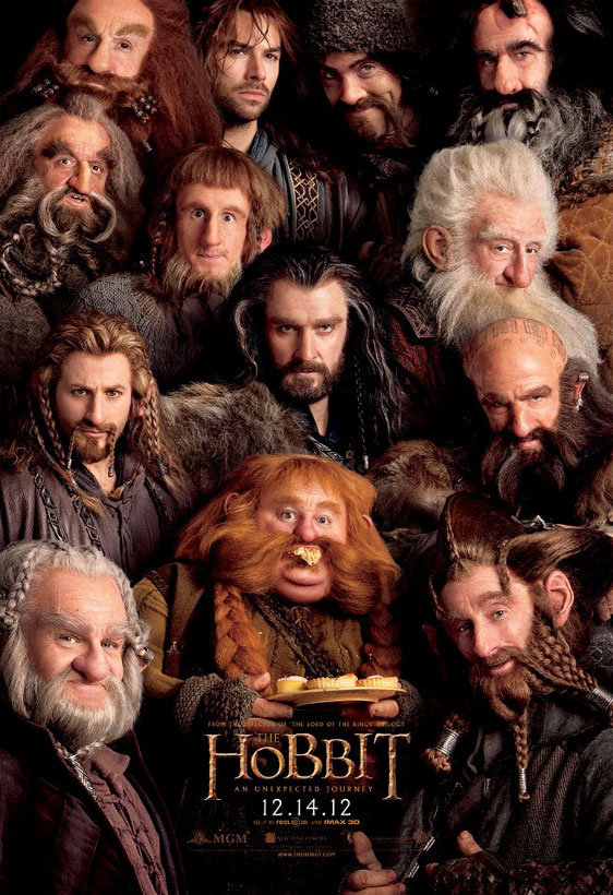 The Hobbit: An Unexpected Journey Poster #4