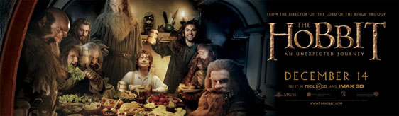 The Hobbit: An Unexpected Journey Poster #7