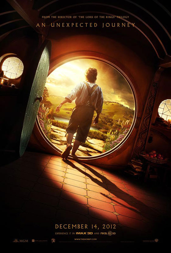 The Hobbit: An Unexpected Journey Poster #1