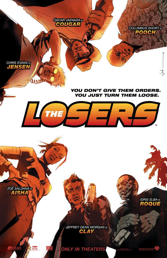 The Losers Poster #1