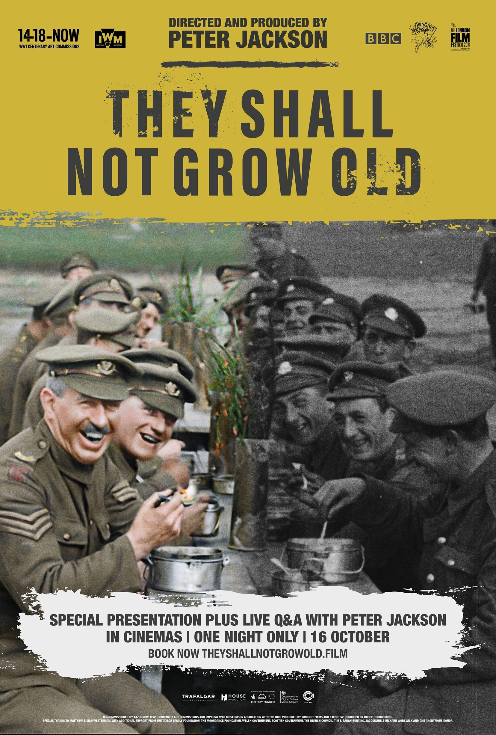 They Shall Not Grow Old Poster #1