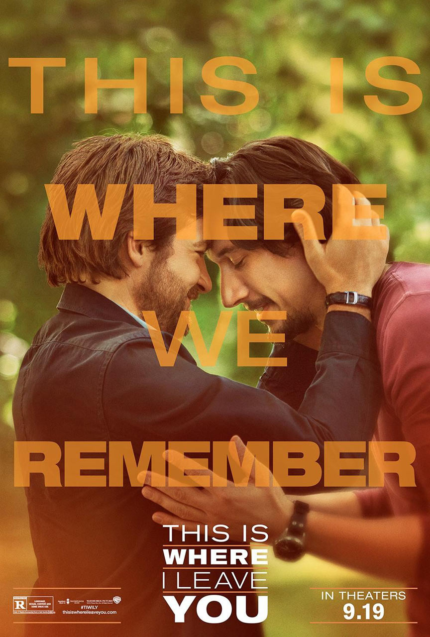 This Is Where I Leave You Poster #5