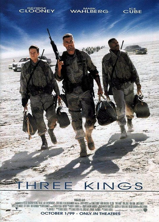 Three Kings Poster #3