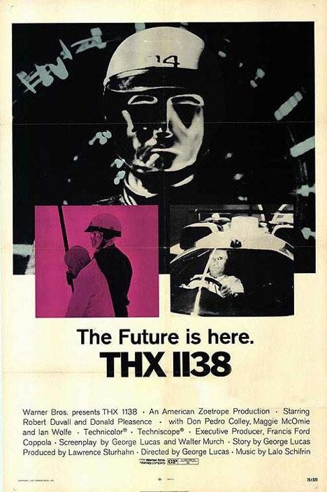 THX 1138 Poster #1