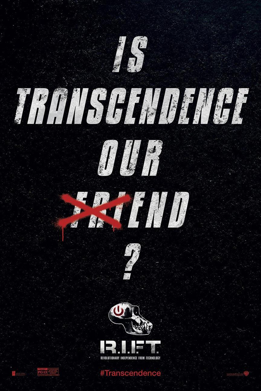 Transcendence Poster #5
