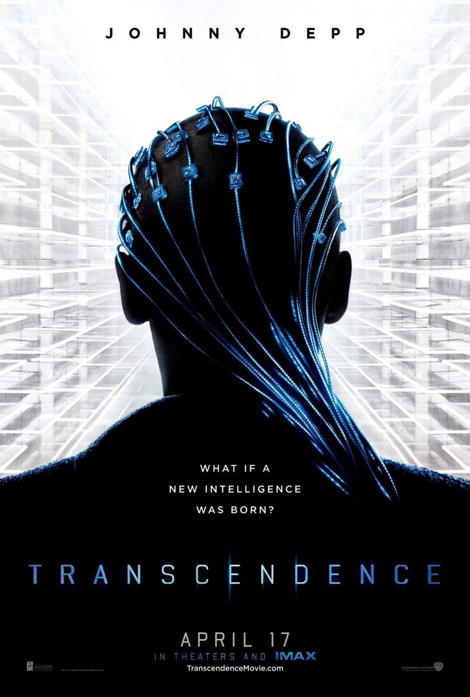 Transcendence Poster #1