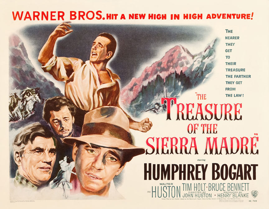 The Treasure of the Sierra Madre Poster #2