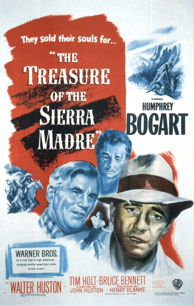 The Treasure of the Sierra Madre Poster #1