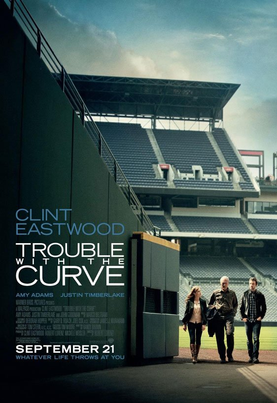 Trouble with the Curve Poster #2