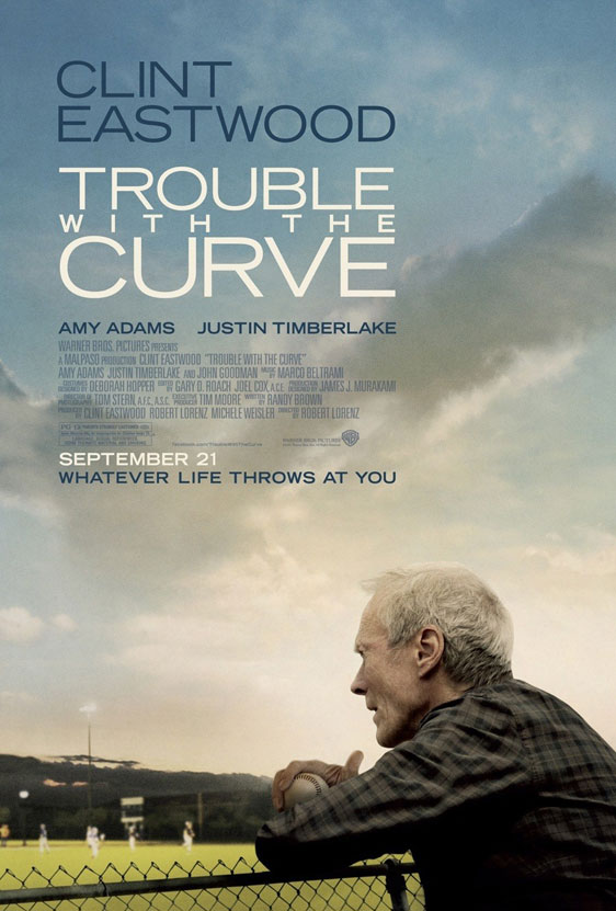 Trouble with the Curve Poster #1