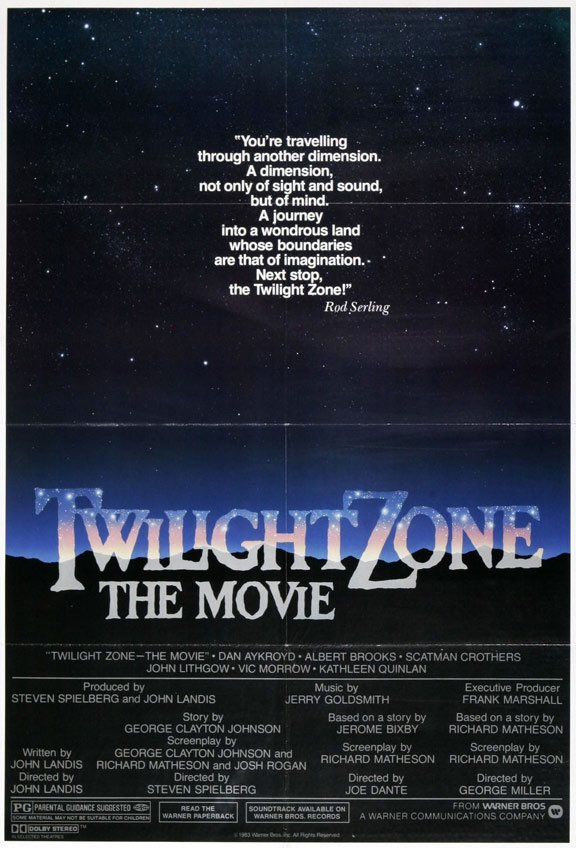 Twilight Zone: The Movie Poster #1