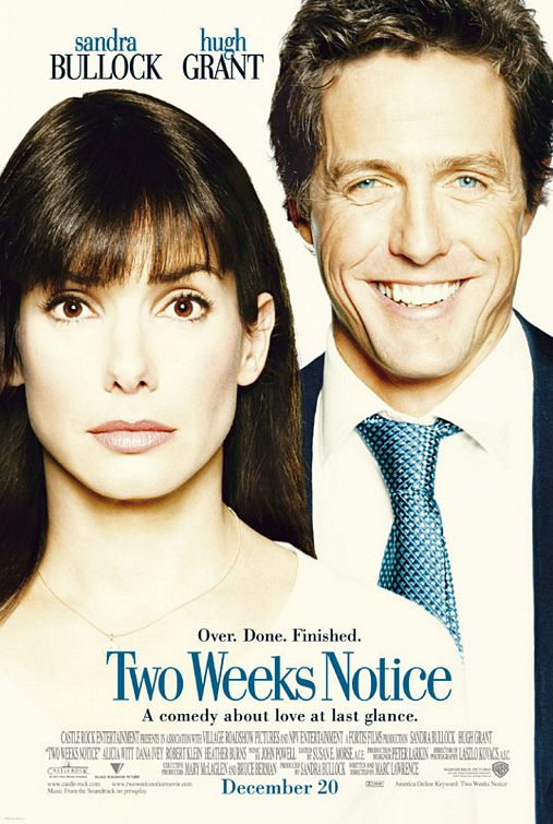 Two Weeks Notice Poster #1