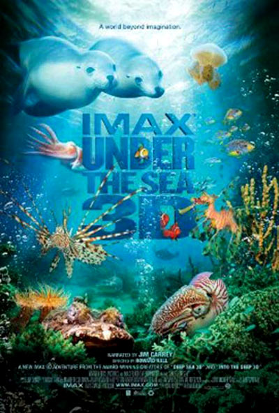 Under the Sea 3D Poster #1
