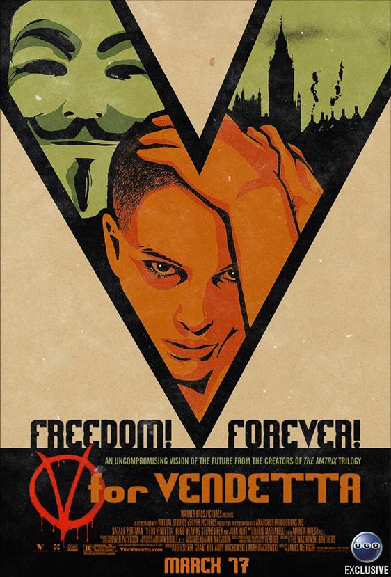 V for Vendetta Poster #2
