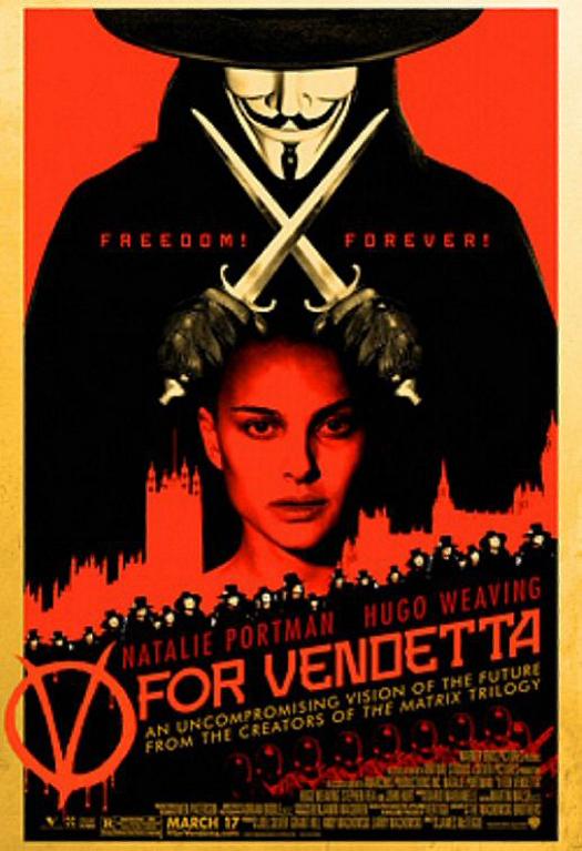 V for Vendetta Poster #3