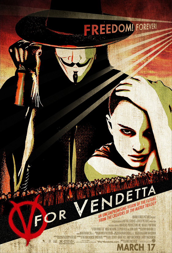 V for Vendetta Poster #4