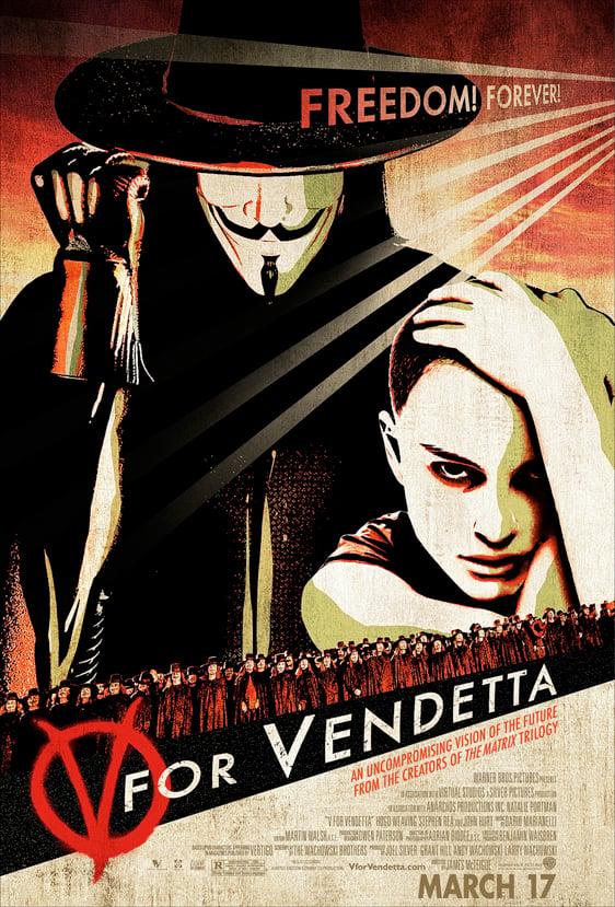 V for Vendetta Poster #4