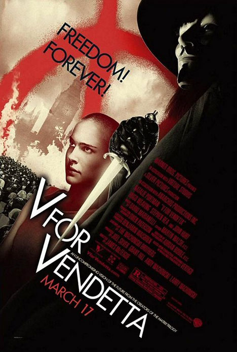 V for Vendetta Poster #1