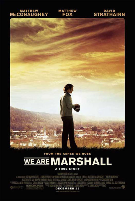 We Are Marshall Poster #1