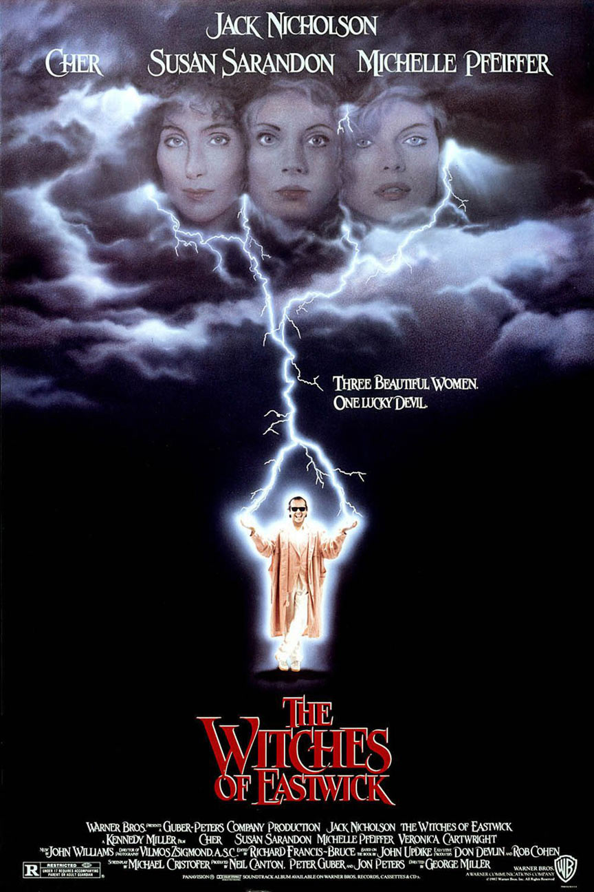 The Witches of Eastwick Poster #1