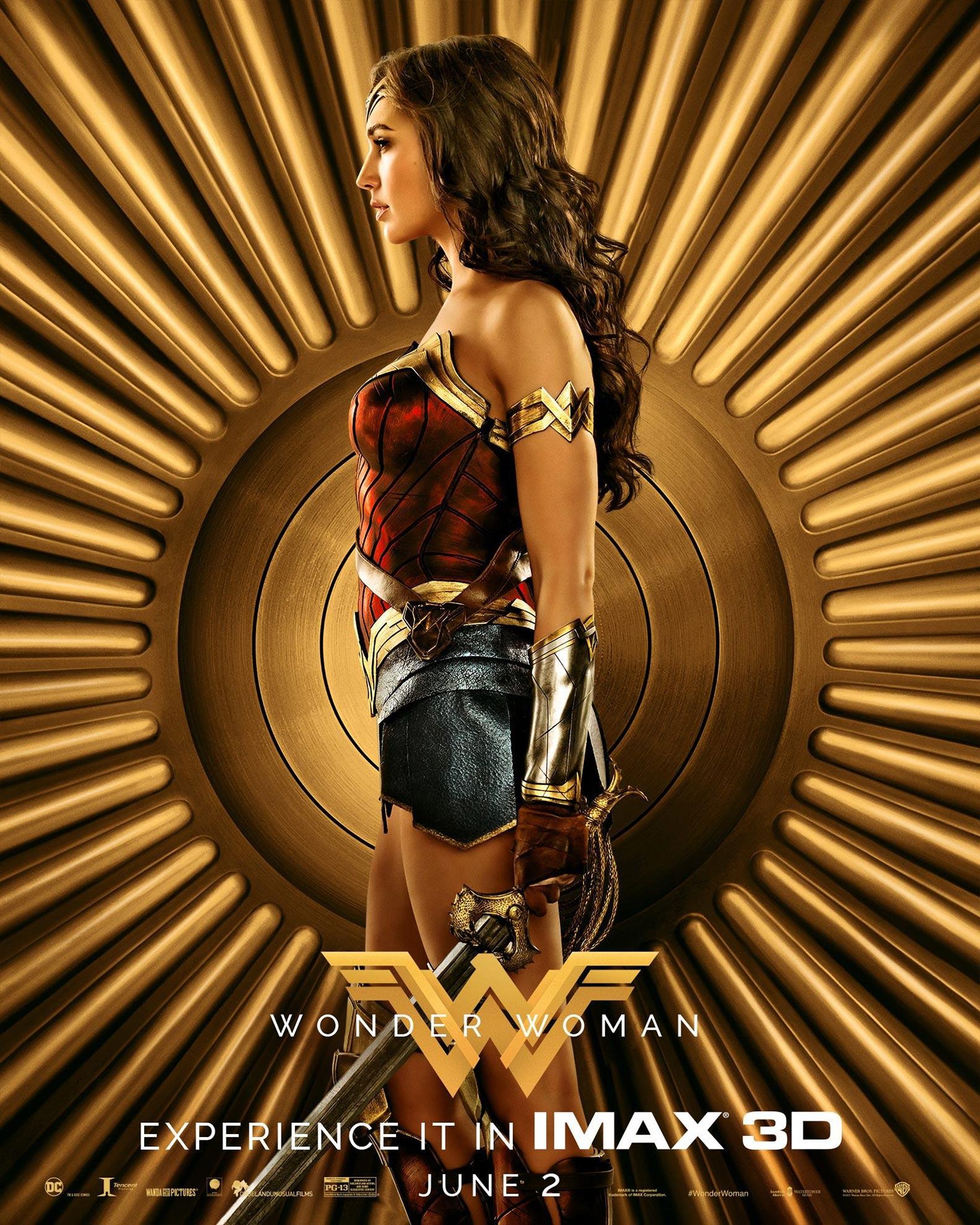 Wonder Woman Poster #10