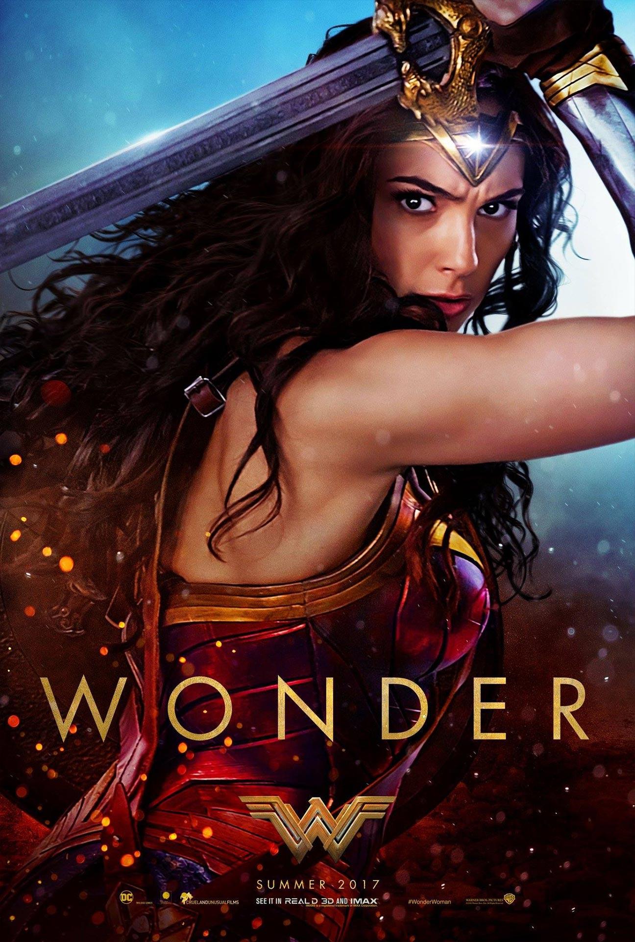 Wonder Woman Poster #2