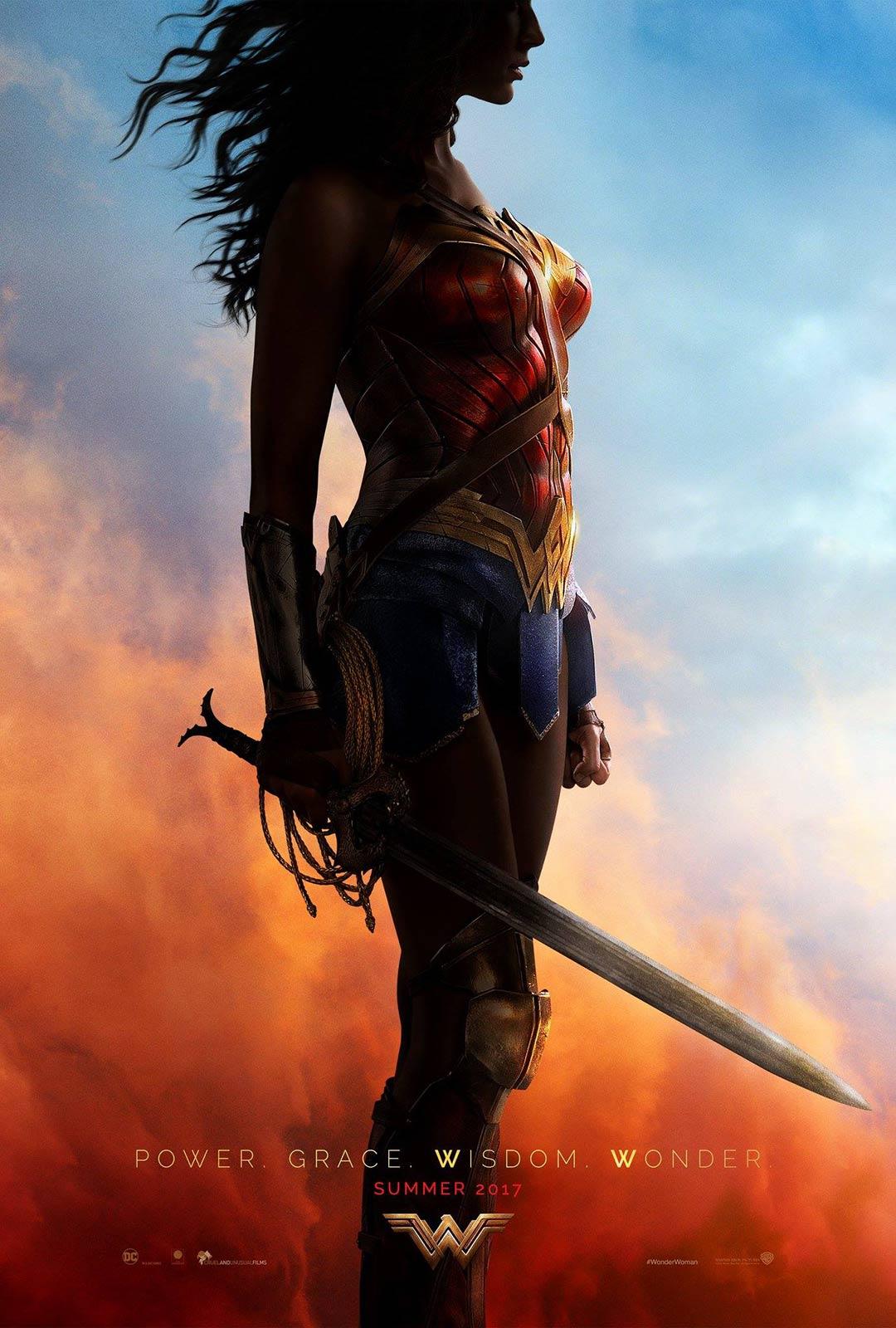 Wonder Woman Poster #1
