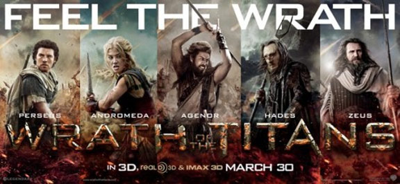 Wrath of the Titans Poster #3